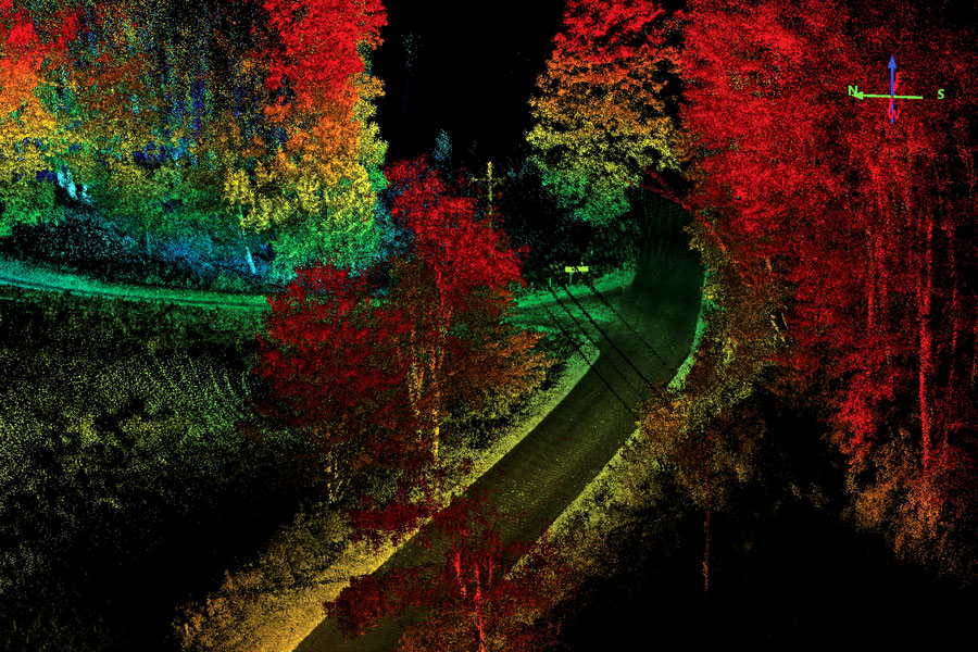 UAV LiDAR and Mobile Mapping